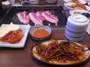 Thursday: Real Korean barbecue!