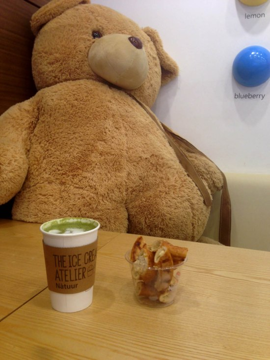 teddy bear tea time