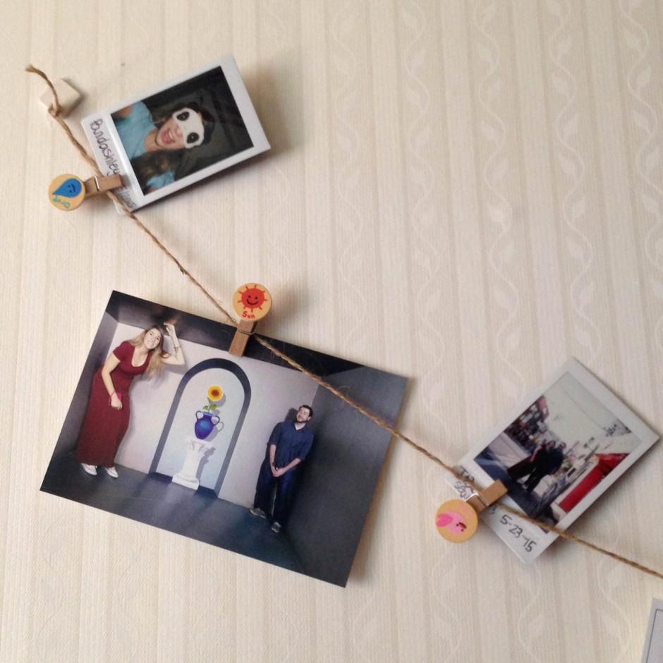 clothespin photos