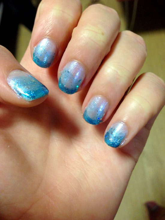 Mermaid nails?