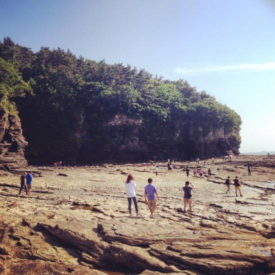 Chaeseokgang Cliffs