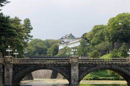 Views into the Imperial Palace grounds