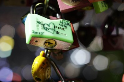 Our love lock!