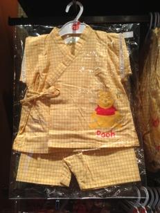 A Pooh Bear baby kimono....ummm adorable.