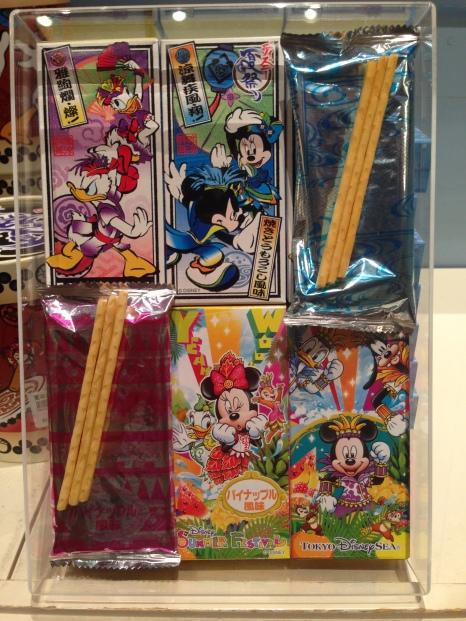 Tokyo Disney souvenirs - Disney characters in Kimonos!
