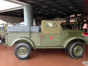 North Korean army vehicle