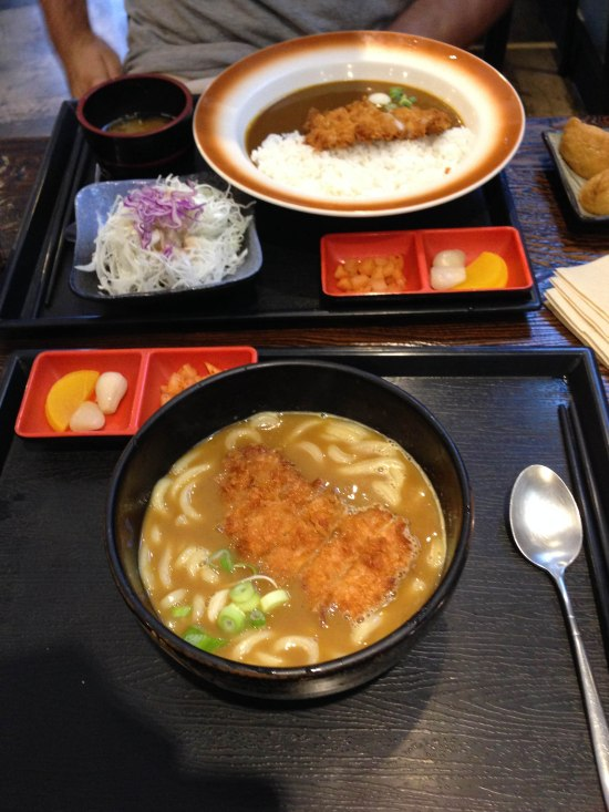 Japanese cuisine with some Korean side fish fusion