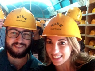 Hard hats, check!