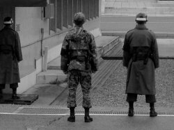 ROK Soldiers standing guard