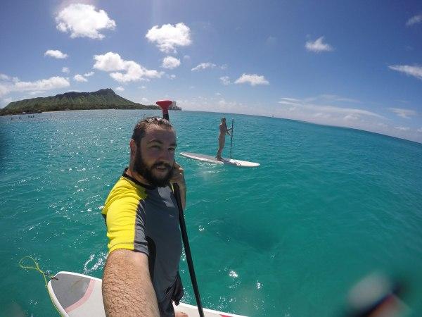 SUP in Waikiki