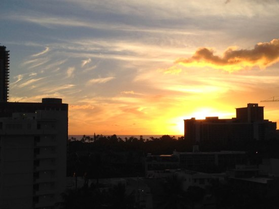Sunsets never get old in Hawaii.